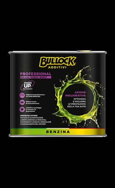 Bullock® additivi: pulitore professional Benzina