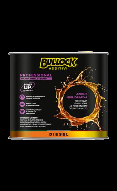 Bullock® additivi: pulitore professional Diesel