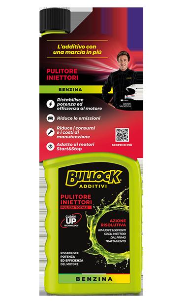 Bullock® additivi: pulitore Iniettori Benzina