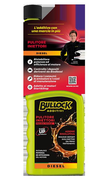 Bullock® additivi: Pulitore Iniettori Diesel