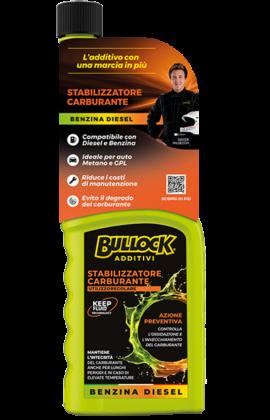 Bullock® additivi: Stabilizzatore Carburante Benzina e Diesel